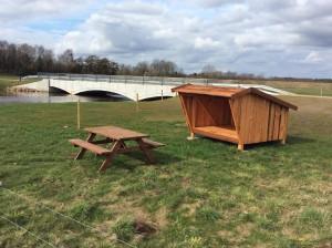 Shelter & ny bro på Ahlervej